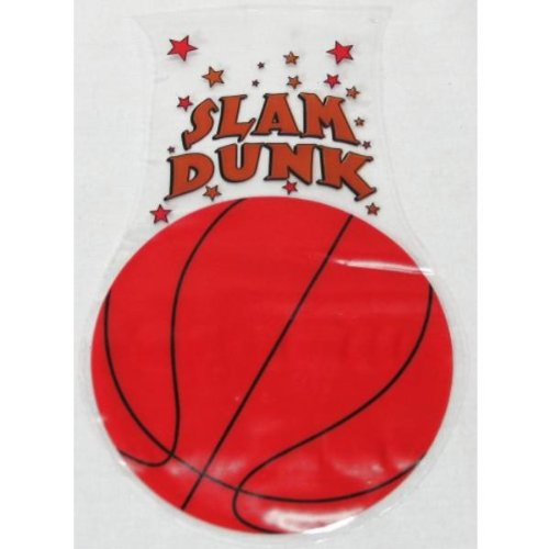 Basketball Shaped Goody Bags (17 Pack)