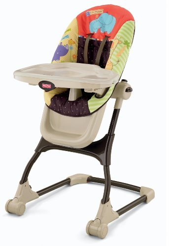 Read About Fisher-Price Luv U Zoo EZ Clean High Chair