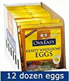OvaEasy Powdered Whole Eggs - Case (12 x 4.5 oz Bags)