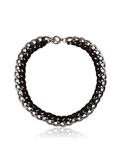 Cortefiel Cadena Cords Link Short Necklace