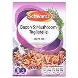Schwartz Bacon & Mushroom Tagliatelle Mix 33g