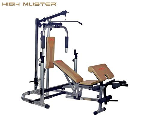 PANCA MULTIFUNZIONE HIGH MUSTER MULTI BUILDER