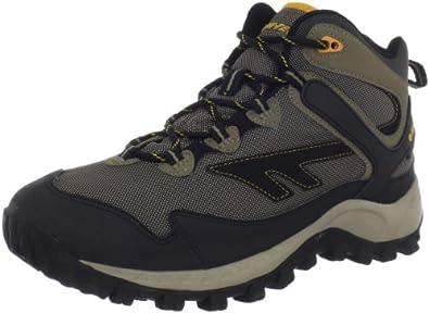 Hi-Tec Men's Raider Mid WP Hiking Boot,Smokey Brown/Taupe/Gold,8 M US