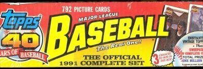 topps-brand-major-league-baseball-cards-the-official-1991-complete-set-by-topps