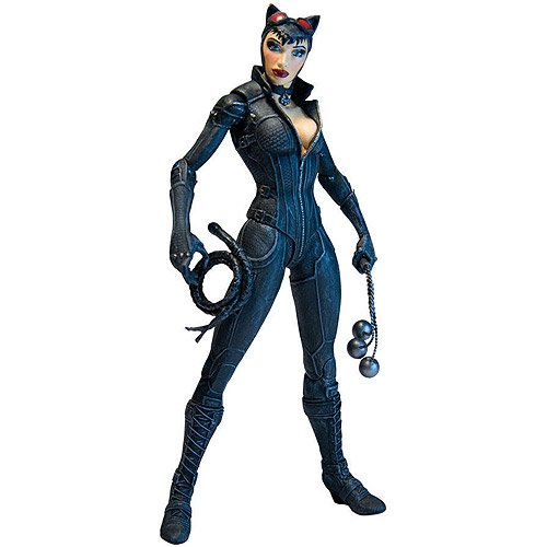 Batman Arkham City: Series 2 Catwoman Action Figu - 1