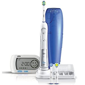 Amazon.com: Braun Oral-b Triumph 5000 Electric Rechargeable Toothbrush with Smart Guide New High ...