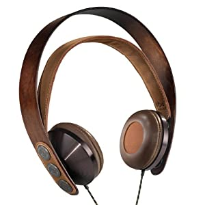 House of Marley EM-FH003-HA Exodus On-Ear Headphones with Integrated Microphone and Three-Button Remote (Discontinued by Manufacturer)