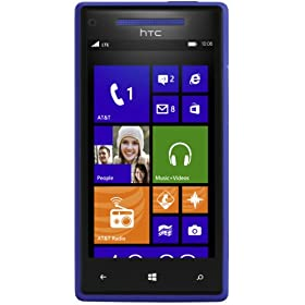 HTC Windows Phone 8X, Blue 8GB (AT&T)