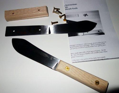 "Green River 4-1/2"" Sheath Knife Kit"