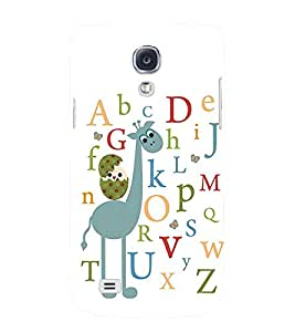 printtech Alphabets Back Case Cover for Samsung Galaxy S4::Samsung Galaxy S4 i9500