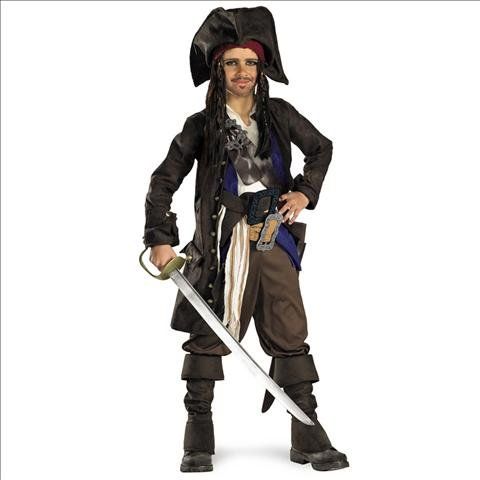 Pirates Of The Caribbean Captain Jack Sparrow Child Costume
