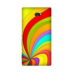 Super Cases Premium Designer Printed Case for Sony Xperia M2