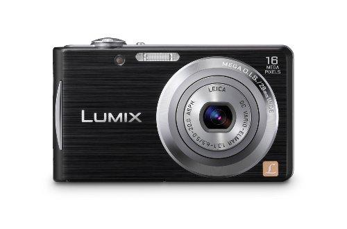 Panasonic Lumix DMC-FS18EG-K Digitalkamera (16 Megapixel, 4-fach opt. Zoom, 6,7 cm (2,7 Zoll) Display, bildstabilisiert) schwarz