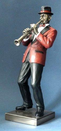 Jazz-Musik-Skulptur-Klarinette-Kollektion-Le-Monde-du-Jazz-aus-den-Parastone-Ateliers