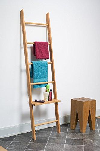 regalboden f r kleiderleiter erweitert die funktion als stummer diener nachttisch bei uns. Black Bedroom Furniture Sets. Home Design Ideas