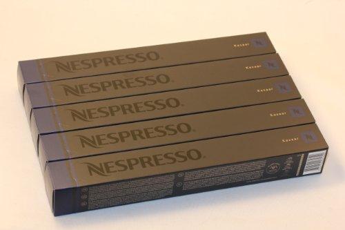 Shop for 50 Kazaar Nespresso Capsules Espresso Lungo Nestle by Nestlé