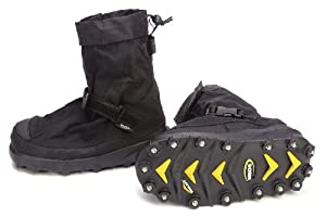 Overboots, Mens, XL, Adj Strap, Blk, Poly, 1PR by Honeywell