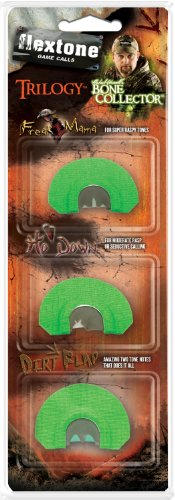 Flextone Bone Collector Trilogy Turkey Call (3-Pack)