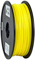 eSun PLA 3D Printer Filament, 3 mm Diameter, 1 kg Spool, Yellow from Shenzhen Esun Industrial Co., Ltd.