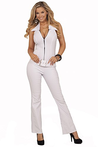 All White Rompers