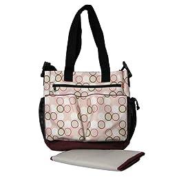 Product Image Spark by Skip Hop Diaper Bag - Pink Circle