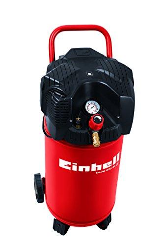 Einhell-Kompressor-TH-AC-20030-OF-11-kW-30-L-Ansaugleistung-200-l-min-8-bar-lfrei-stehende-platzsparende-Bauweise