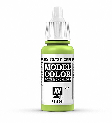 Vallejo Green Fluorescent Paint, 17ml