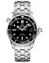 NEW OMEGA SEAMASTER MIDSIZE 300M CHRONOMETER WATCH 212.30.36.20.01.002