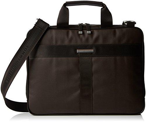 Tommy Hilfiger - Darren Slim Computer Bag, Borsa da uomo, marrone (coffee bean), unica
