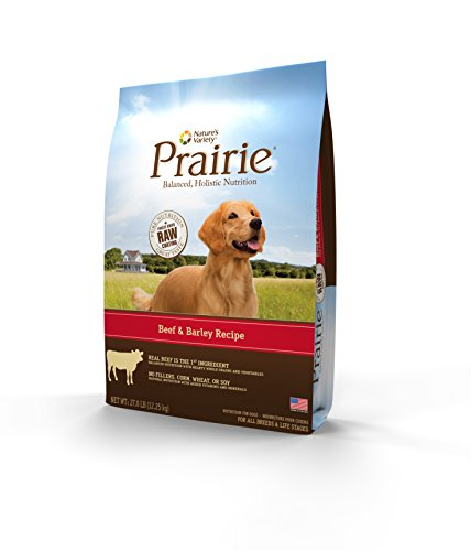 Prairie Beef & Barley Recipe Dry Dog Food By Nature'S Variety 27 Lb Bag