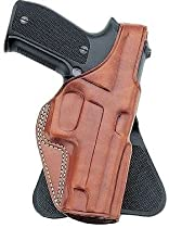 Galco PLE250B Unlined Paddle Gun Holster for Sig Sauer P229, Right, Black
