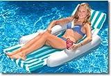 International Leisure Sunchaser Padded Floatng Lounger