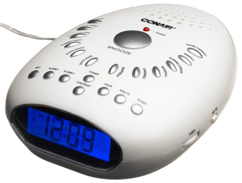 Conair SU7 Sound Therapy and Relaxation Clock Radio