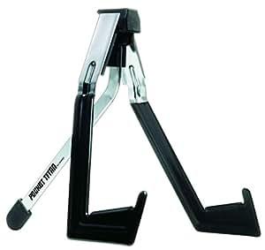 Ibanez PT32-BK faltbarer Ständer für Gitarre und Bass chrom/schwarz