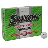 Srixon 12 Pack Soft Feel Golf Balls White -