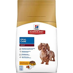 Hill's Science Diet Adult Oral Care Dry Dog Food, 4-Pound Bag