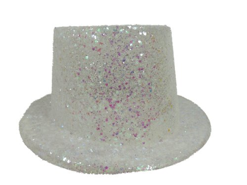 Glitter Top Hat (Iridescent) Adult Costume Accessory