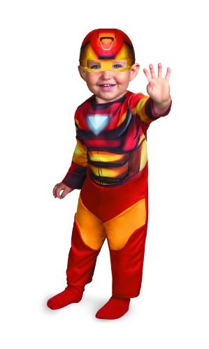 Disguise Marvel Super Hero Squad Iron Man Infant Costume