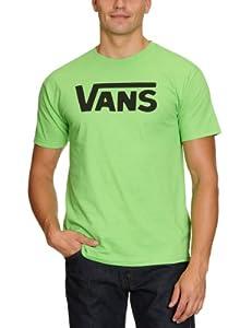 VANS Herren T-Shirts CLASSIC, lime/black, S
