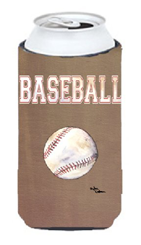 Baseball Tall Boy Koozie Koozie Hugger From Caroline'S Treasures