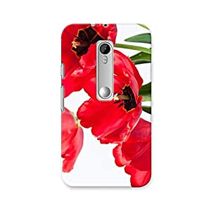 ArtzFolio Tulips In A Vase : Motorola Moto G Turbo Edition Matte Polycarbonate ORIGINAL BRANDED Mobile Cell Phone Protective BACK CASE COVER Protector : BEST DESIGNER Hard Shockproof Scratch-Proof Accessories