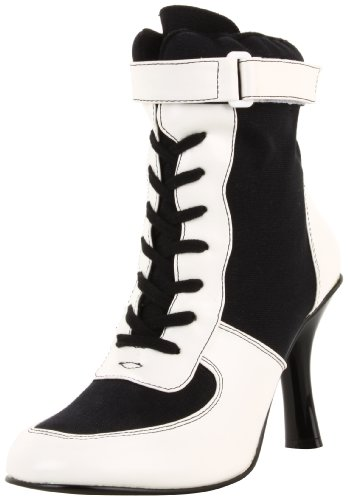 Funtasma by Pleaser Women&#8217;s Referee-125/BW Boot