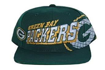 NFL Green Bay Packers Football Snapback Hat Cap - Green by Team Industries