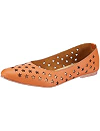 Kanvas Katha Women's Ballerina Shoe - 3 UK/India (36 EU)(KKFTLC001T)