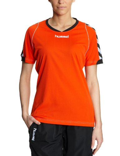 Hummel Damen Trikot BEE AUTHENTIC Short Sleeves JERSEY, fire red, XS, 03-911-3439_3439