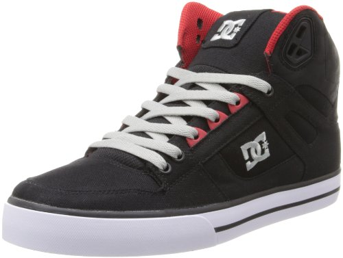 DC Men's Spartan High WC TX Lace-Up Fashion Sneaker,Black/Athletic Red/White,9.5 M US DC B00FHQJHSI