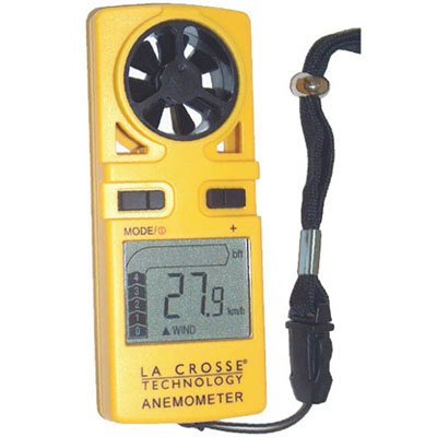 La Crosse EA-3010U Weather Station - Handheld Anemometer ( Yellow )