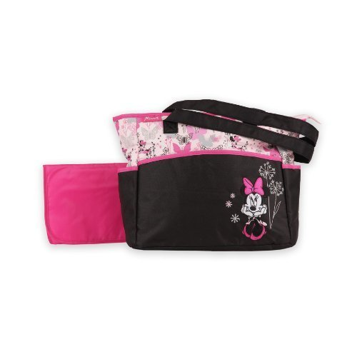 Diaper Bag & Changing Pad - Minnie Mouse - Rose Art - 1