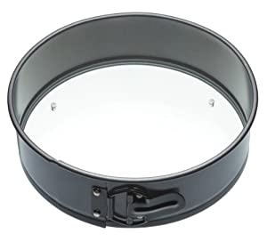 "10"" Springform Cake Pan with a Glass Base"