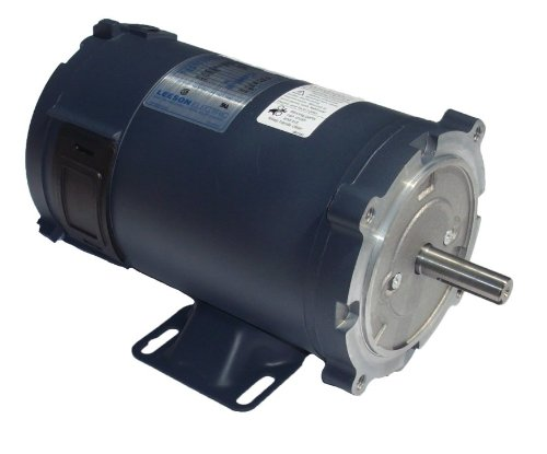 1/2 Hp 1750 Rpm 90 Volts Dc 56C Frame Tefc Leeson Electric Motor # 098000